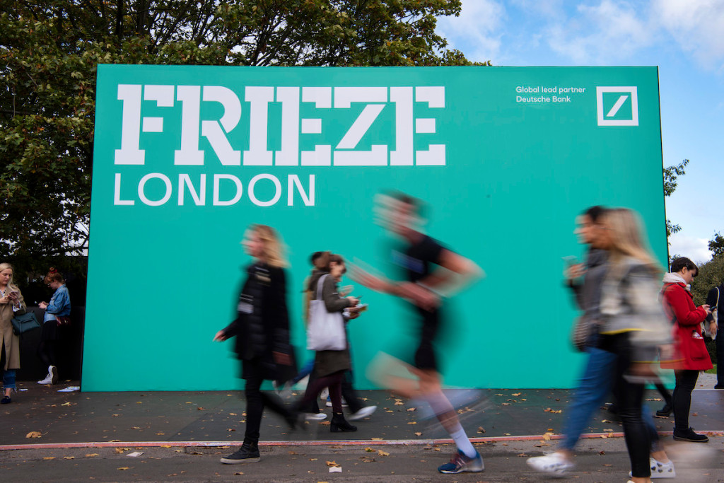 Frieze Lines Up 276 Exhibitors for In-Person London Fairs