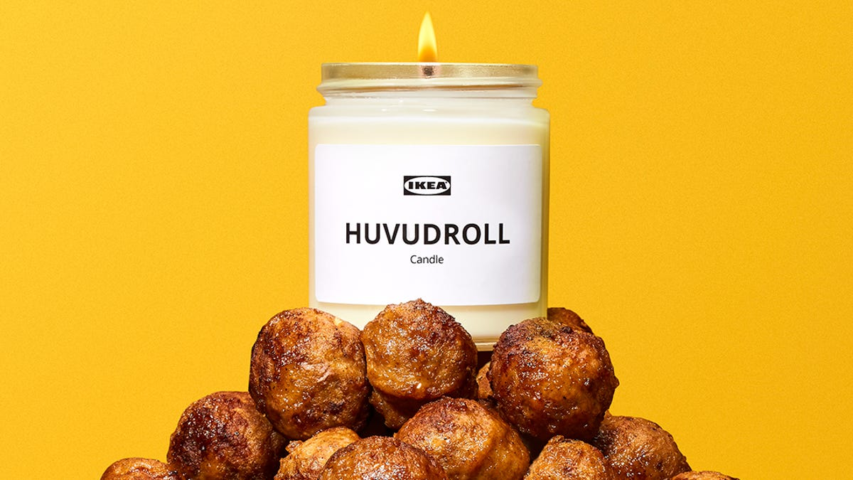 Ikea is releasing a candle that smells like their beloved Swedish meatballs