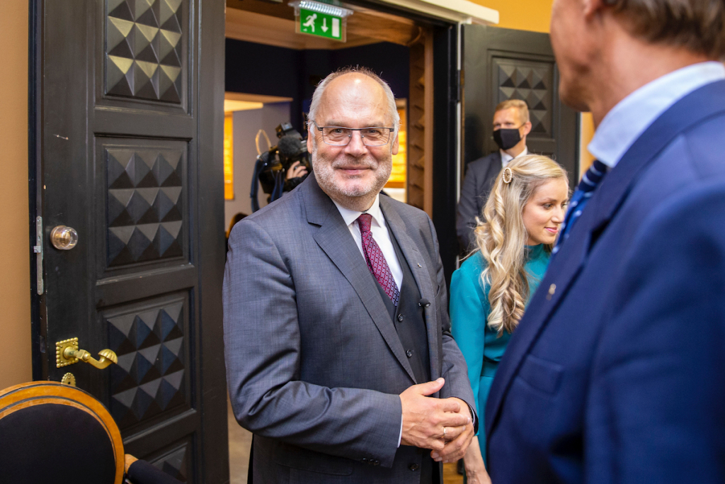 Museum Director Elected President of Estonia: 'I Promise to Be a Good Partner'