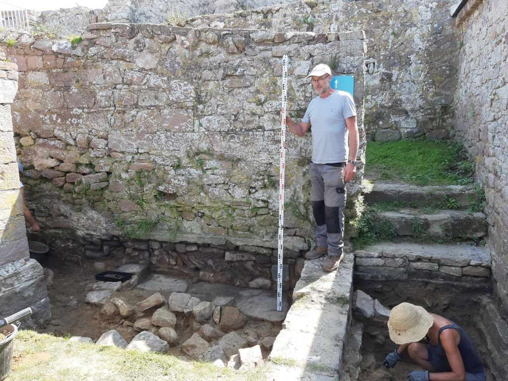 WWII Nazi Bunker Discovered Inside 1,700-Year-Old Roman Fort