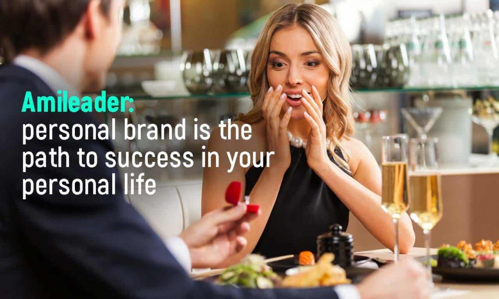 Personal brand created by the Amileader system helps not only in your career, but also in your personal life
